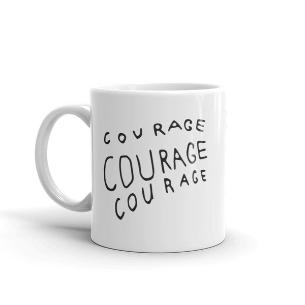 COFFEE MUG / Courage Stipe - Jen Black