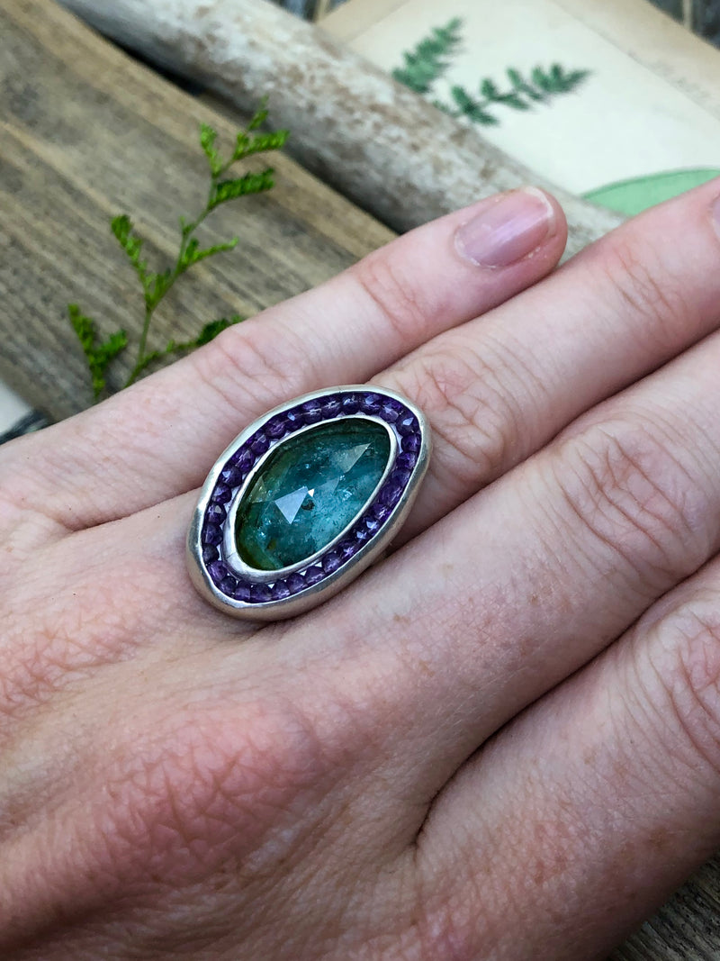 Tufted Moss Ring