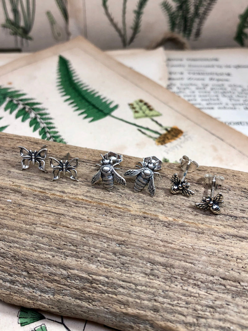 Small Bee Studs