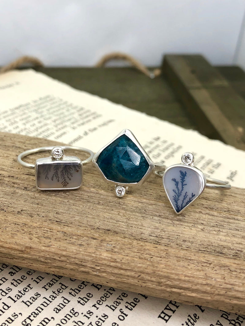 Blue Sparkle Ring