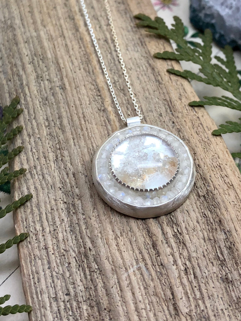 Snow Globe Sparkle Necklace
