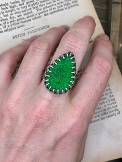 Sparks Of Green Ring 2