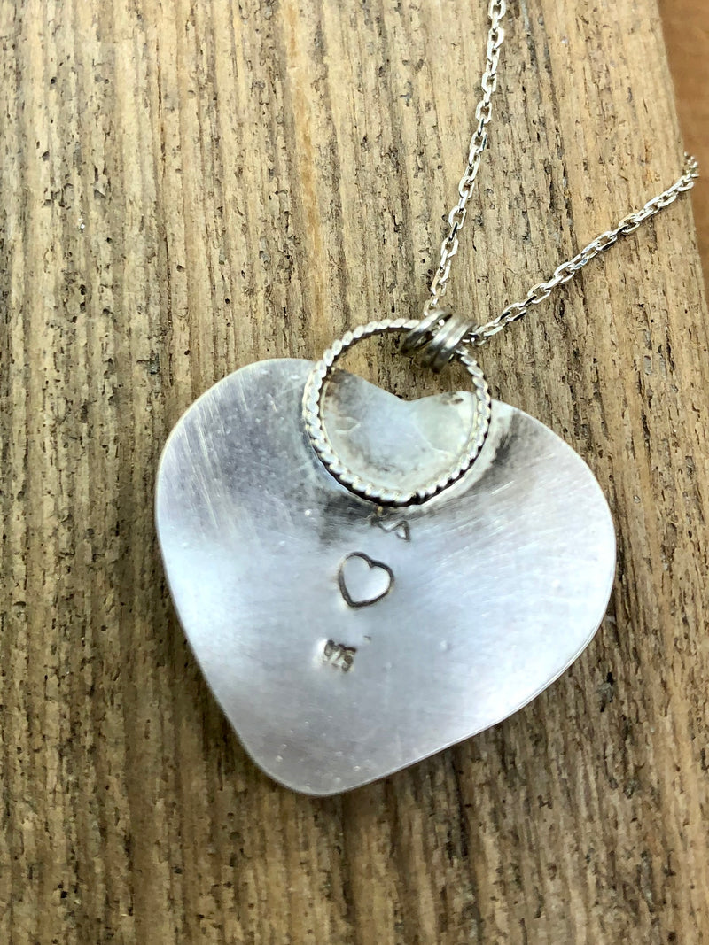 The Winter Heart Necklace