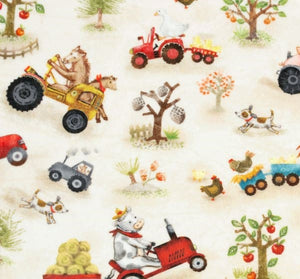 Funny Farm Digital Cuddle in Beige