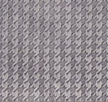 Load image into Gallery viewer, Embossed Houndstooth in Silver