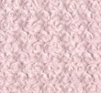 Luxe Cuddle Rosettes in Ice Pink