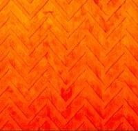 Luxe Cuddle Embossed Chevron Orange