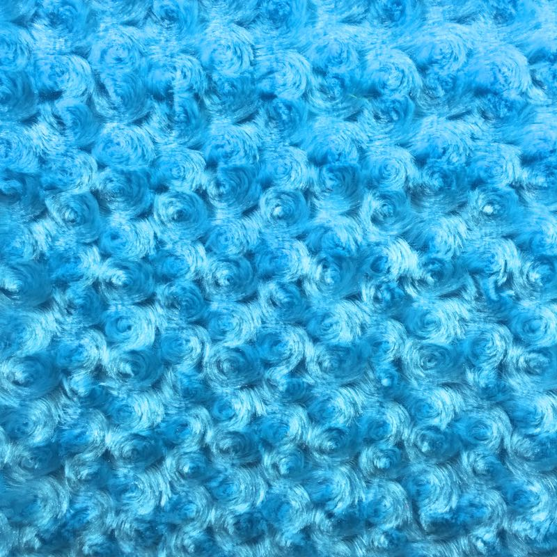 Pillowcase - Rosettes in Turquoise
