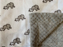 Load image into Gallery viewer, RKC Elephants in Snow on Cuddle Cloud Spa