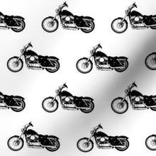 "Load image into Gallery viewer, Spoonflower's 2.5"" Motorcycles"