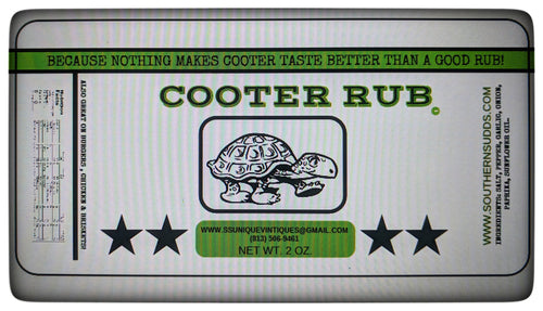 Cooter Rub Spice Seasoning