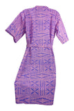 Fa' a' ala - Women's Bathrobe Traditional Samoan Elei