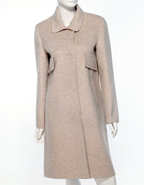 Della Cashmere 2-Pocket Coat - Bryla J Couture
