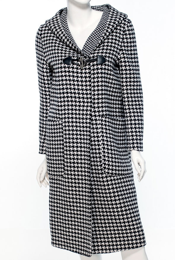Lillie Houndstooth Cashmere - Bryla J Couture