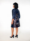 Eva Floral Dress - Bryla J Couture