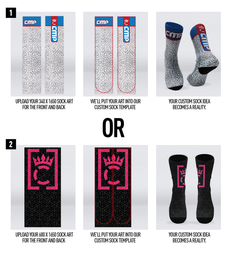 Design My Own Socks – Compound Clothing Retail
