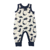 Naomi & Prints 100% organic cotton baby boy dino playsuit romper