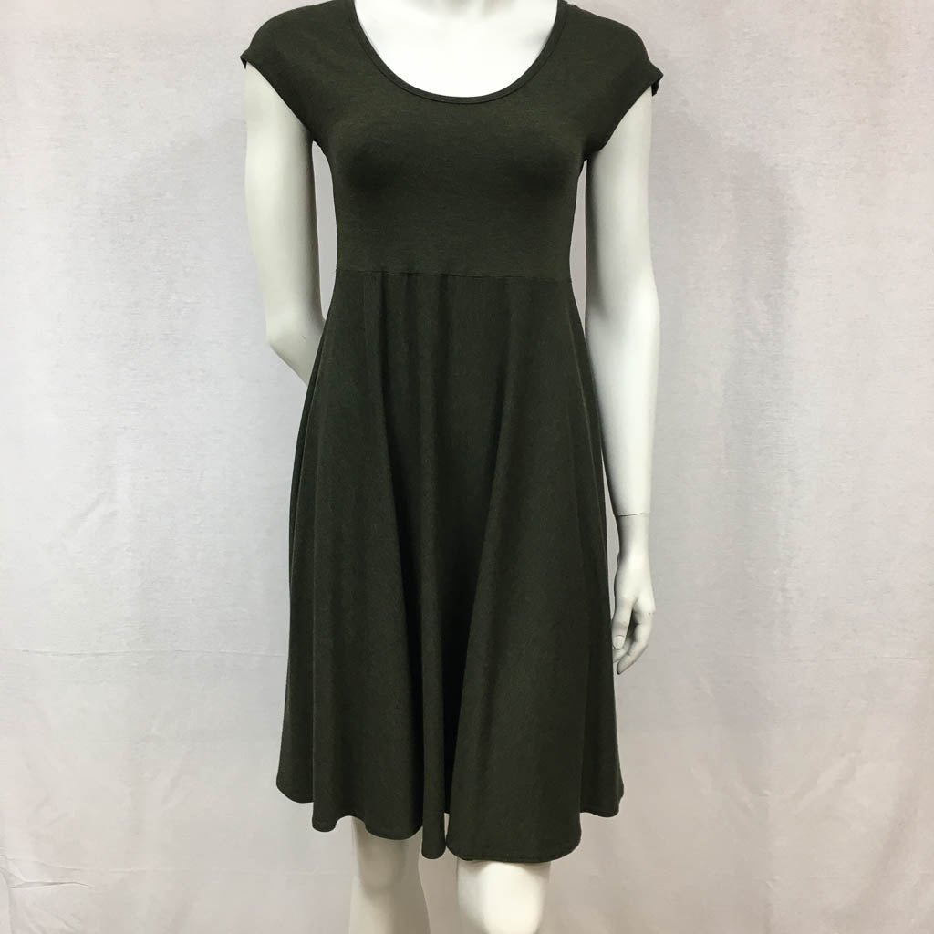 Circle Dress - Cap Sleeve