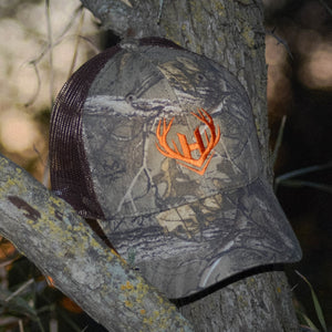 Realtree Camo Hat w/ Brown Mesh Back