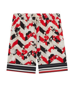 MAISON KITSUNÉ All-Over Venice Shorts - MULTICOLOUR