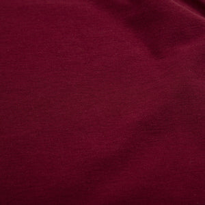 FOLK LS Textured Tee - Burgundy