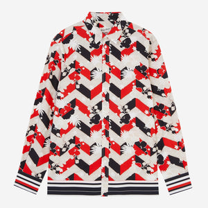 MAISON KITSUNÉ ALL-OVER VENICE CLASSIC SHIRT