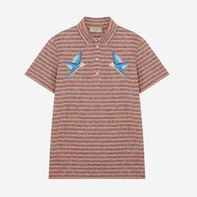 MAISON KITSUNÉ Polo Surf Stripes - Red Stripes