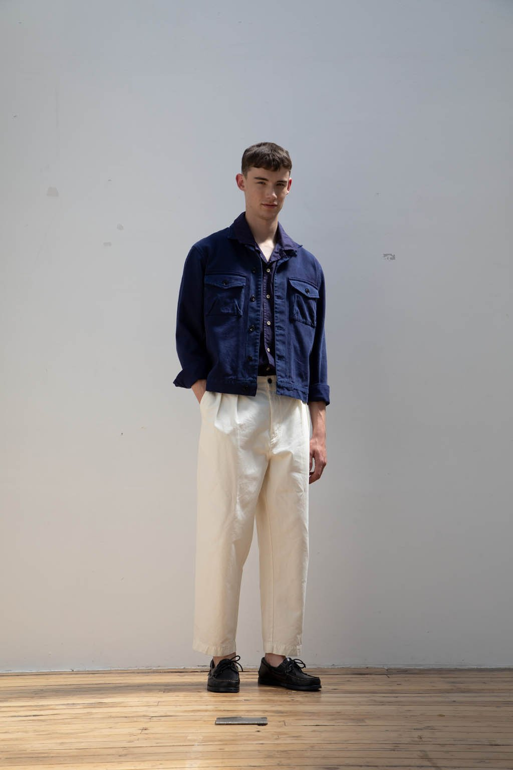 ALBAM Work Blouson - CHAMBRAY