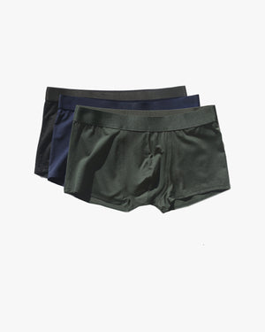 CDLP 3-pack Boxer Trunk - BLACK / NAVY / ARMY