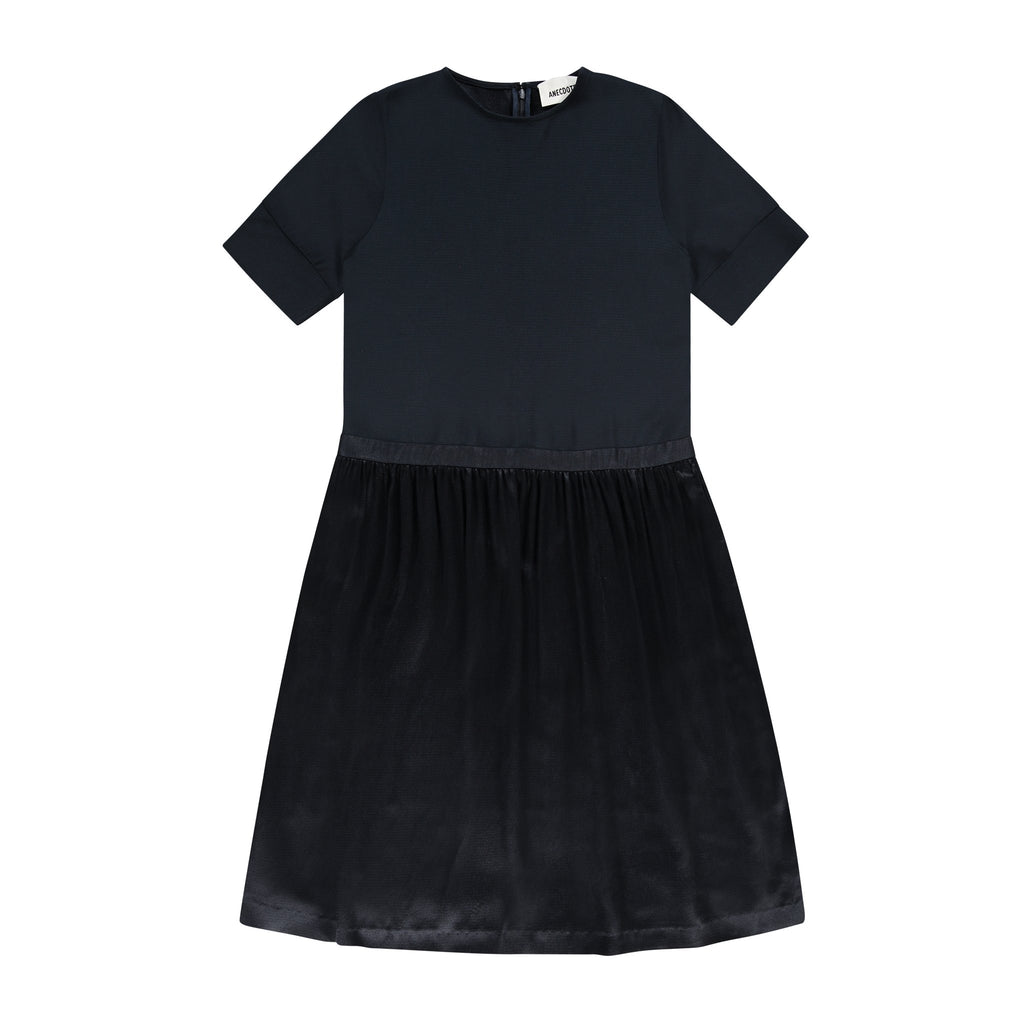 ANECDOTE Evelyn Dress - NAVY