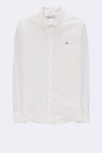 GOOD PEOPLE SHIRT WITH CLOUD PATCH - White