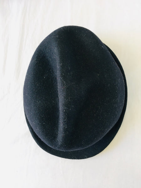 KAMILAVKA Crumpled Hat - NAVY