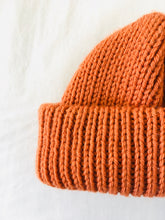 EARLYMADE Hand-knitted Hat - ORANGE - LAST PIECE