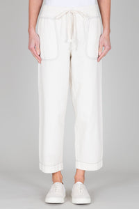 FOLK Drawcord Trouser - Ecru