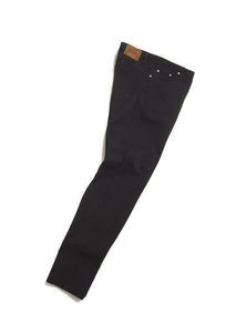 ALBAM Regular Fit Selvedge Jeans - Black / White