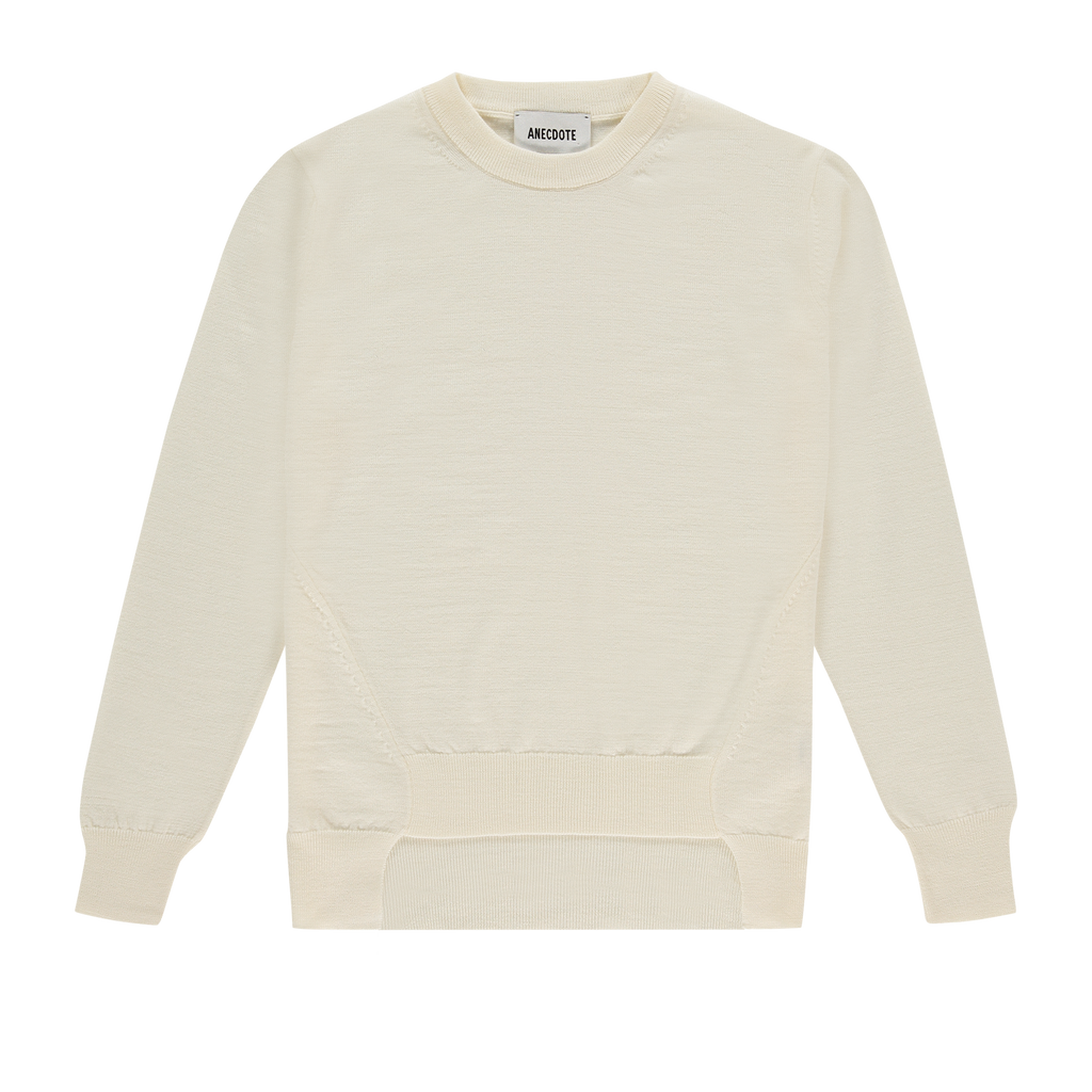 ANECDOTE Lauren Sweater - CHALK WHITE