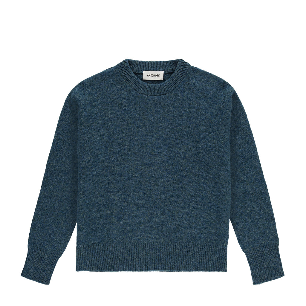 ANECDOTE Lise Sweater - TEAL - LAST PIECE