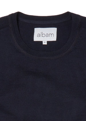 ALBAM Merino Sports Knit - DARK NAVY