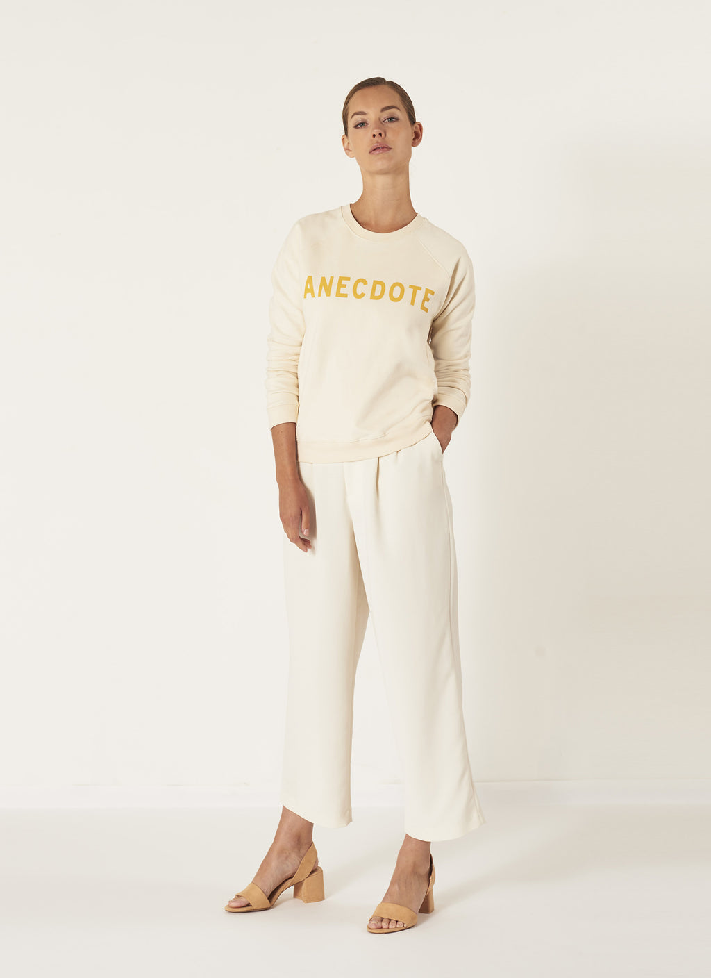 ANECDOTE Do Sweater - CREAM