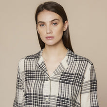 FOLK Soft Collar Shirt - ALBER CHECK