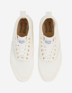 MAISON KITSUNÉ HIGH-TOP SNEAKER - White