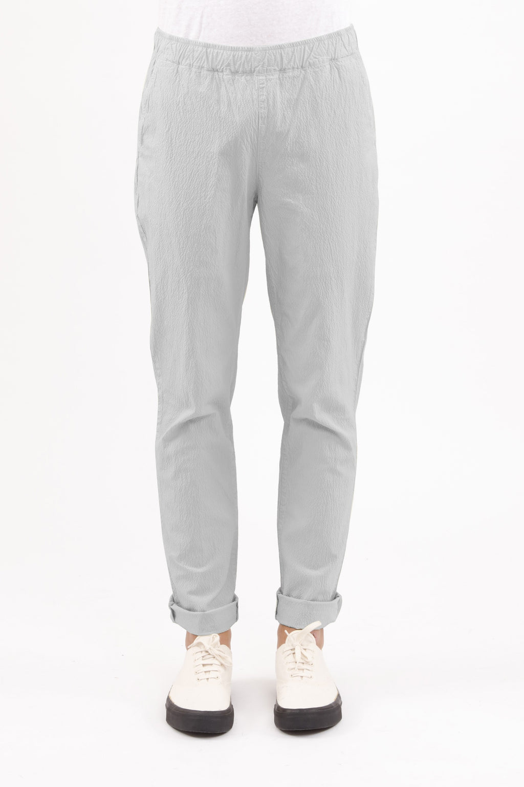 HOMECORE Drawcord Pants - LIGHT GREY