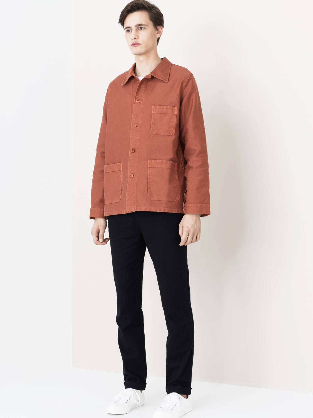 LE MONT S'MICHEL Genuine Work Jacket