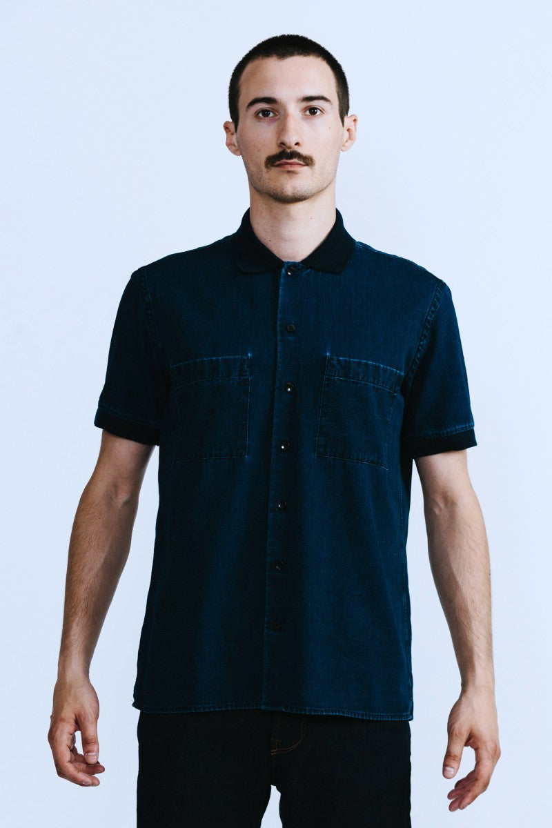 HOMECORE John Fernie Shirt - Navy