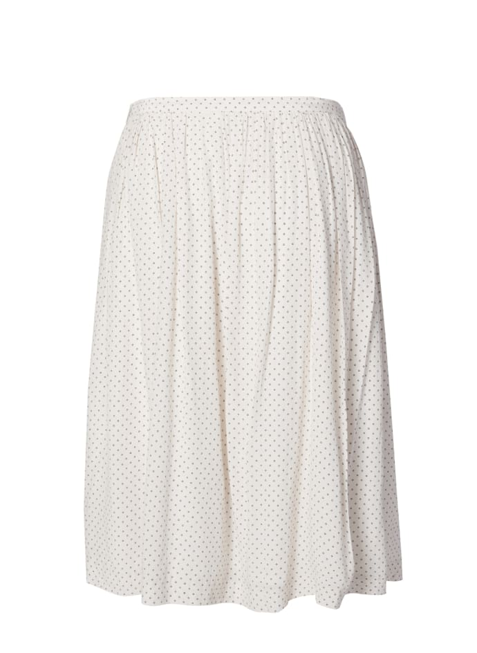 ANECDOTE Raya Skirt - CREAM / BLACK