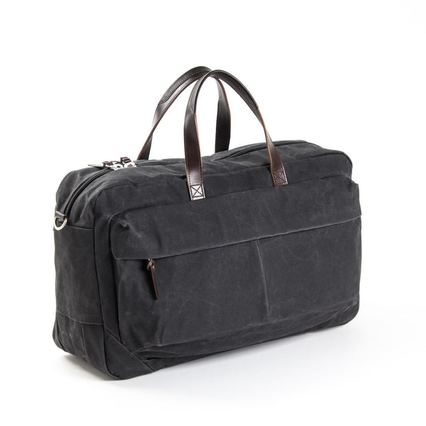 PROPERTY OF... Tommy Trip Bag - Coal/Dark brown