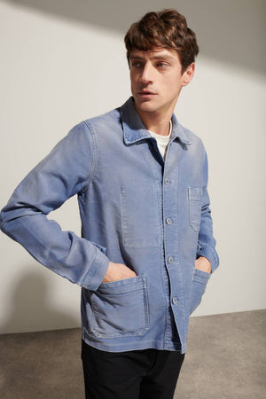 MSM Work Jacket - VINTAGE WASHED BLUE