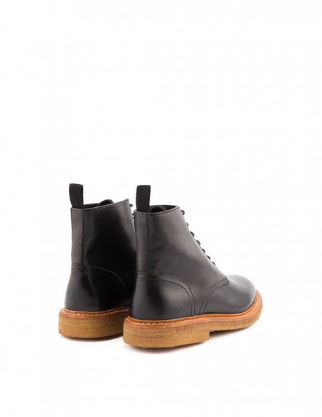YMC Leather Anckle Boots - BLACK - LAST PIECE