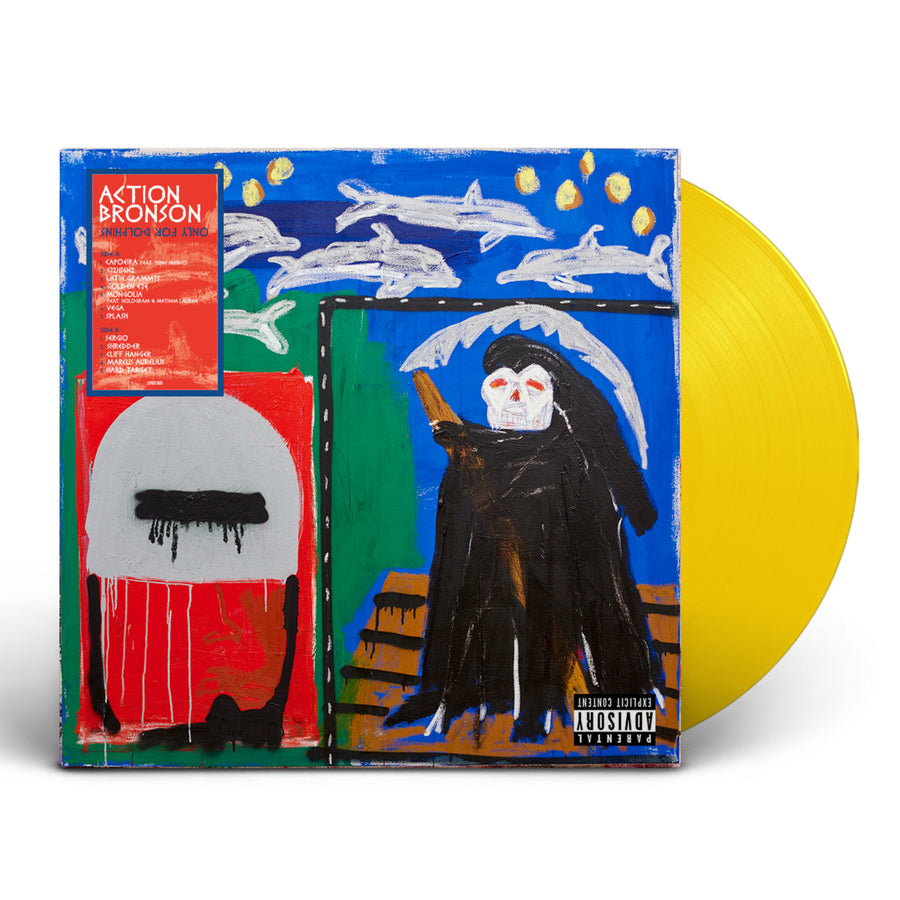 Action Bronson - Only For Dolphins Exclusive Yellow Colored Vinyl Album LP_Record