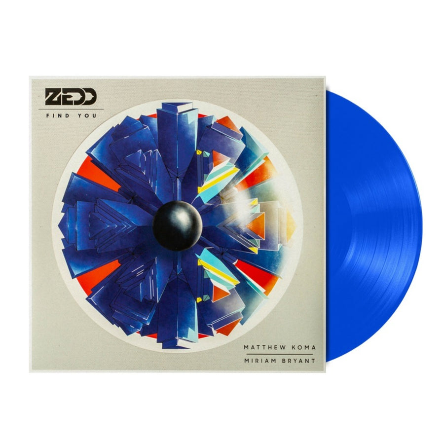 Zedd - Find You (Feat. Matthew Koma And Miriam Bryant) Limited Edition Blue LP Vinyl Record Album